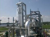 Transformer oil recycling plant