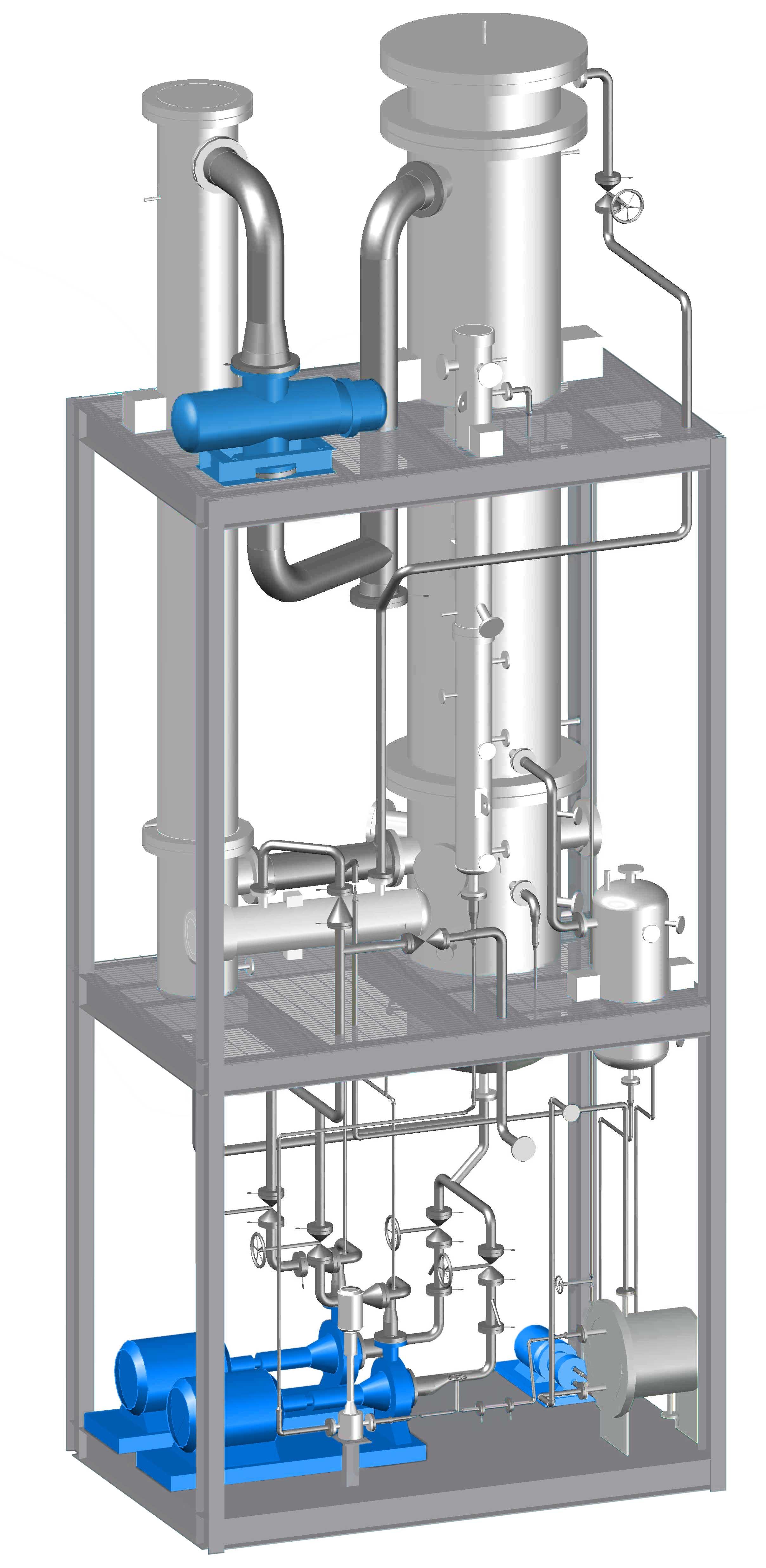 Zero liquid discharge plants & Vapor re pression of water